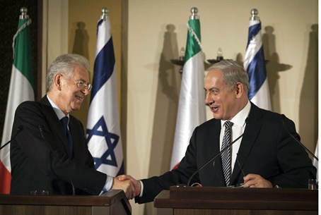 Netanyahu and Monti