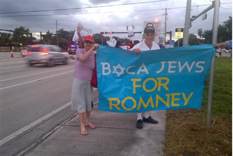 Boca Jews for Romney
