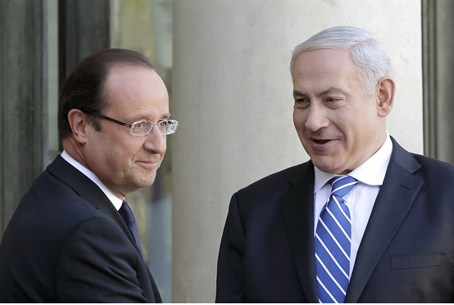 French President Francois Hollande and Israel