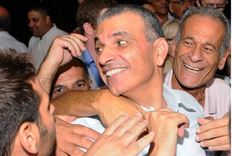 Kahlon with Likud Supporters