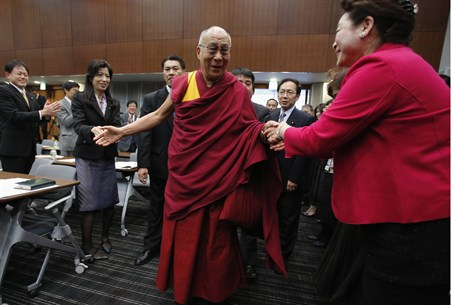 Dalai Lama in Japan