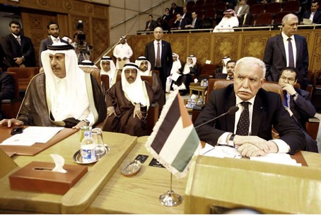 Arab League meeting in Cairo (file)