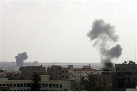 Strikes on Gaza terrorists