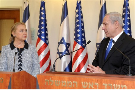 Clinton and Netanyahu