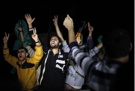 Celebration in Gaza
