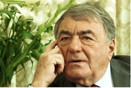 French filmmaker Claude Lanzmann