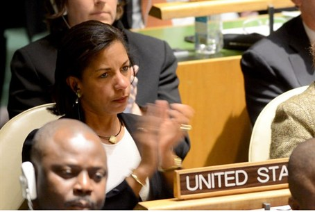U.S. ambassador Susan Rice applauds Israeli a