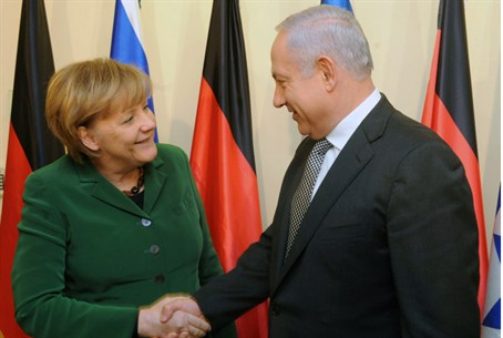 PM Netanyahu and German Chancellor Angela Me
