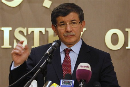 New Turkish prime minister Ahmet Davutoglu