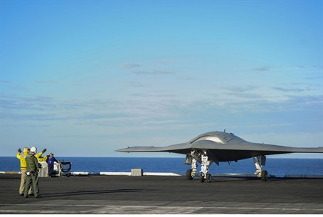 The X-47B Unmanned Combat Air System (UCAS) d