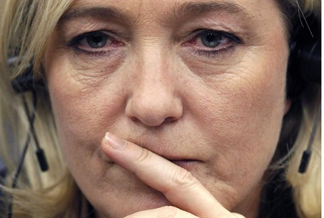 Marine Le Pen, France's far-right National Fr