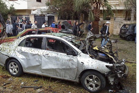 Car bombing in Homs