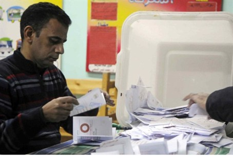 Counting votes in Egypt (archive)