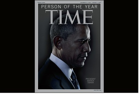 Obama on the cover of Time magazine