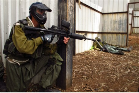 Paintball drill