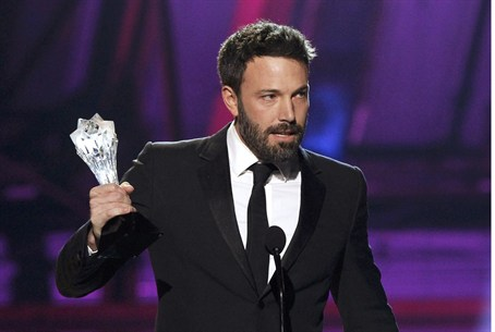 "Director Ben Affleck accepts the ""Best Direct"