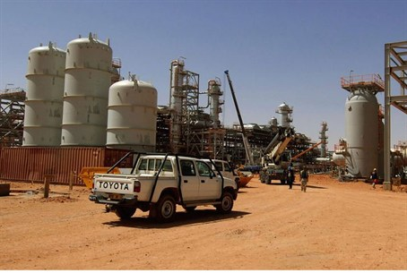 In Amenas gas field in Algeria