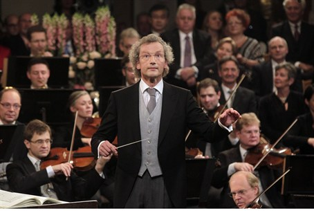Maestro Franz Welser-Moest conducts the Vienn