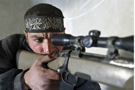 Syrian fighter