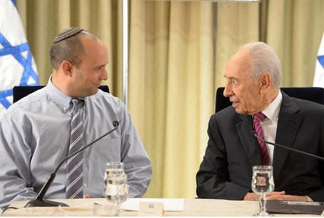 Bennett with Peres
