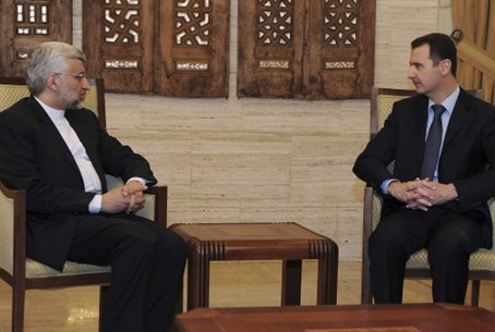 Jalili with Assad
