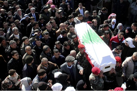 funeral of Lebanese victim