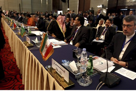 Delegates from Iran attend conference in Cai