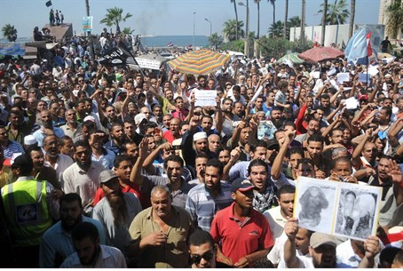 Egyptians demonstrate against anti-Islam film