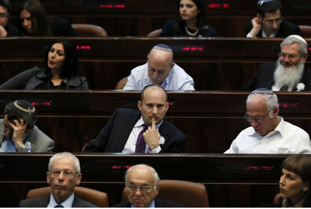 Rare agreement in Knesset (file)