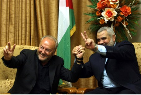 Galloway with Hamas PM Haniyeh