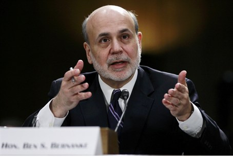 Bernanke spoke to a Senate panel on the state