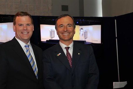 John Baird and Franco Frattini at AIPAC's con