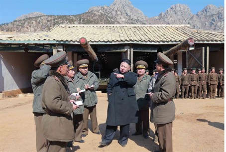 Leader Kim Jong-Un visits the Korean People's