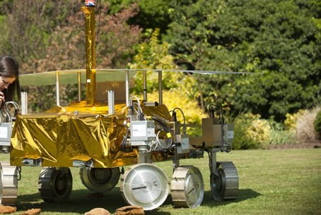 ExoMars project's rover 'Bridget'