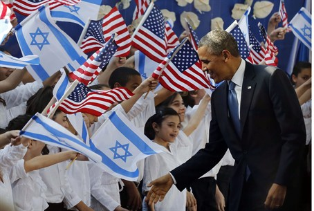 President Obama arrives in Israel