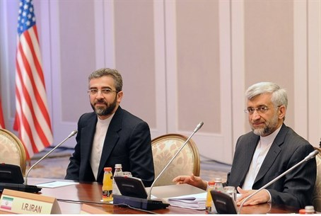 Iran's top nuclear negotiator Saeed Jalili me