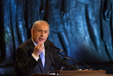 PM at Holocaust Memorial Ceremony 2013
