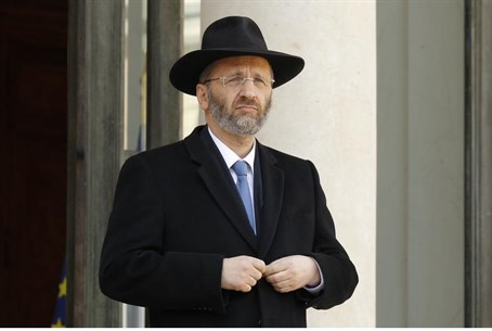 France's Grand Rabbi Gilles Bernheim