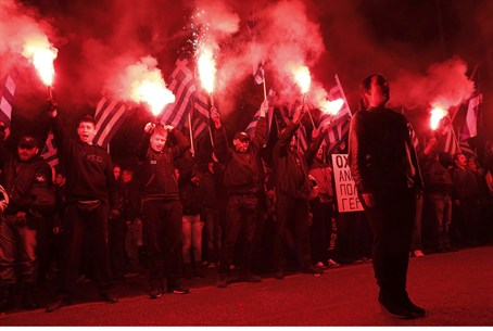 Golden Dawn party rally