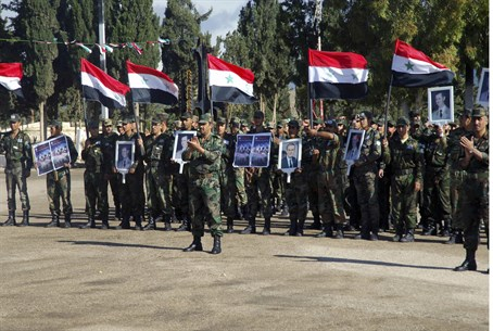 Forces loyal to Syria's President Bashar al-A