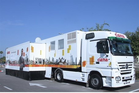 Ciena marketing truck