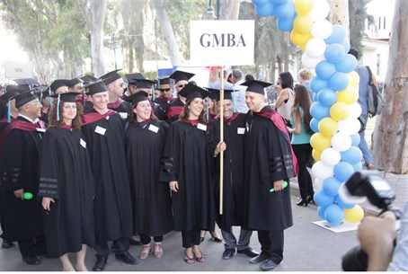 Students in the IDC Global MBA Program (file)