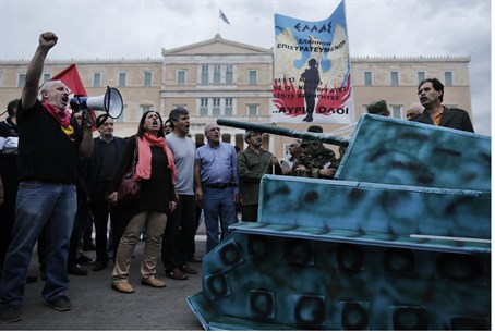 Golden Dawn MP Shouts 'Heil Hitler' In Parlia