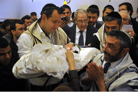 Circumcision ceremony in France