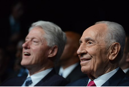 President Shimon Peres at 90th birthday celeb