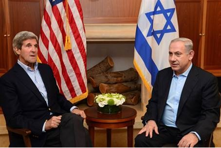 Kerry and Netanyahu meet