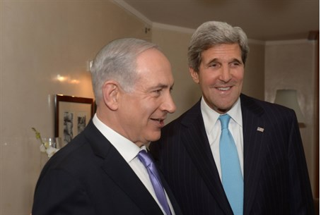 Netanyahu and Kerry meet in Jerusalem