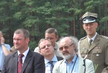 Memorial Ceremony in Treblinka