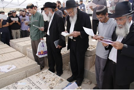 Memorial prayers for Rav Kook