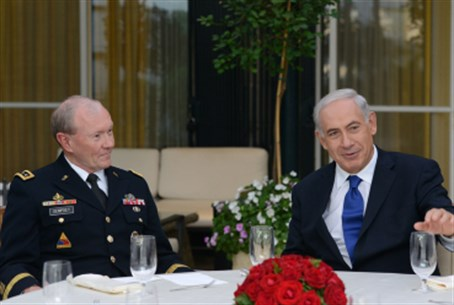 PM Netanyahu with General Dempsey